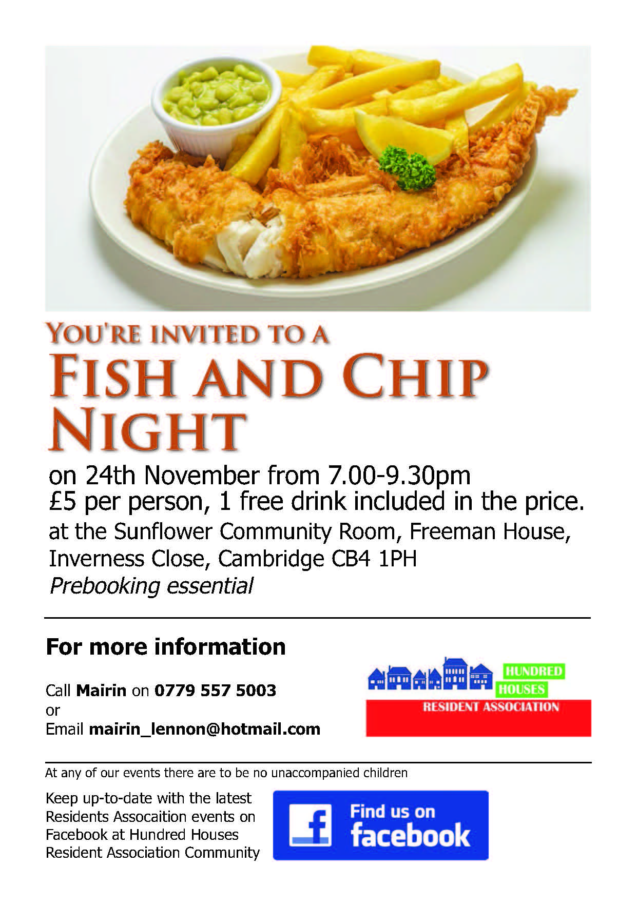 Fish and Chip event